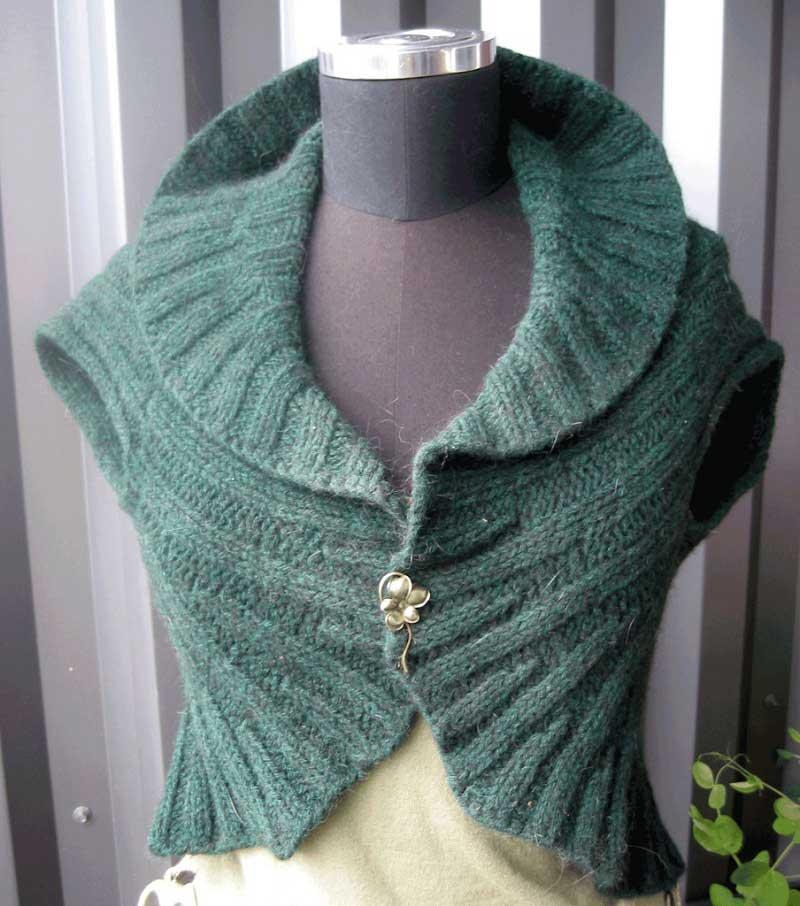 Knit Vest Pattern In The Round : Knitting Pattern- Circle Vest