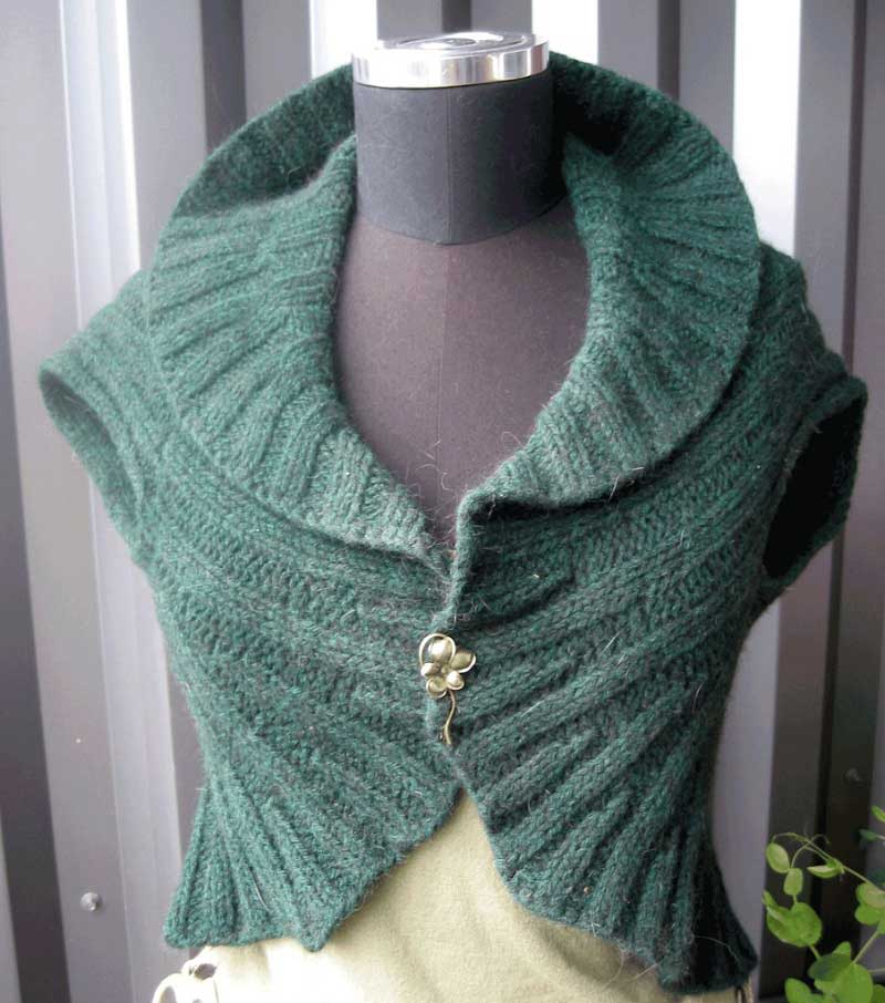 Knitting Pattern Circle Vest