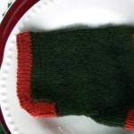 wrist warmer knitted pattern