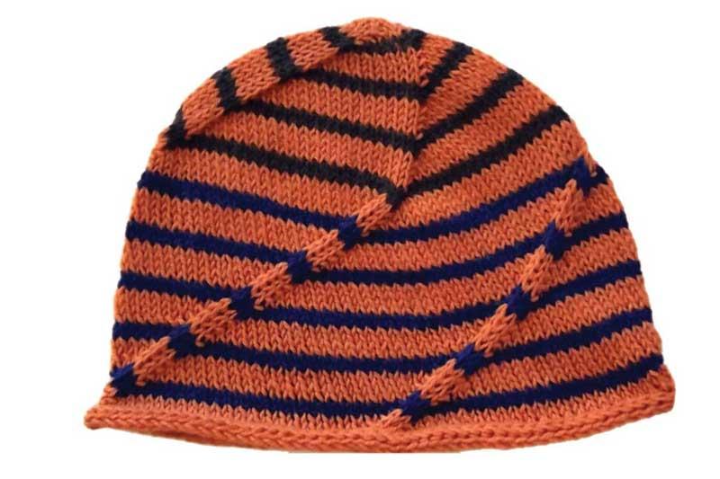 Swirly Swoosh Hat   Fingering   Intermediate