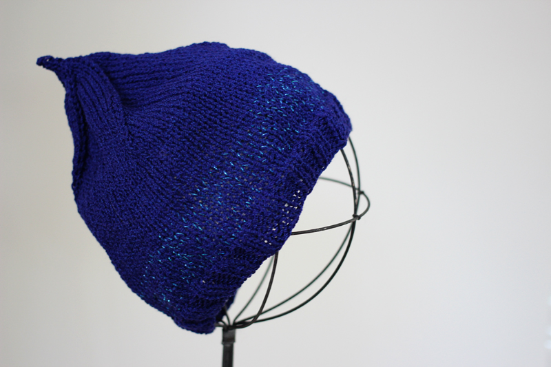 Blue Sparkle Hat