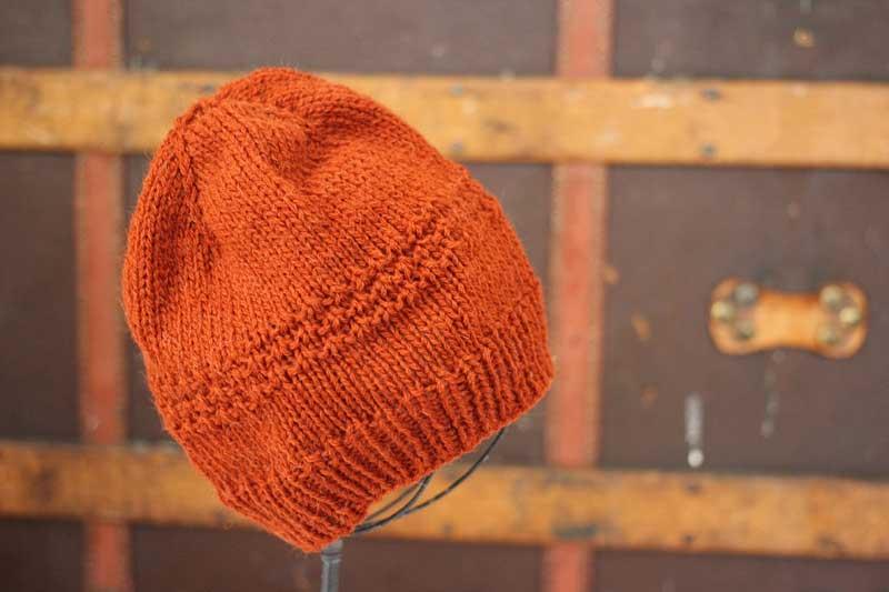 knit aplaca hat - fuzzy