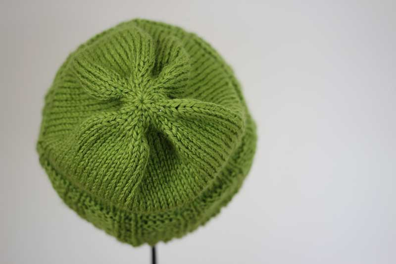 melon knit hat