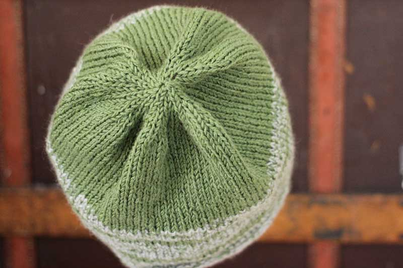 tweed recycled cashmere hat