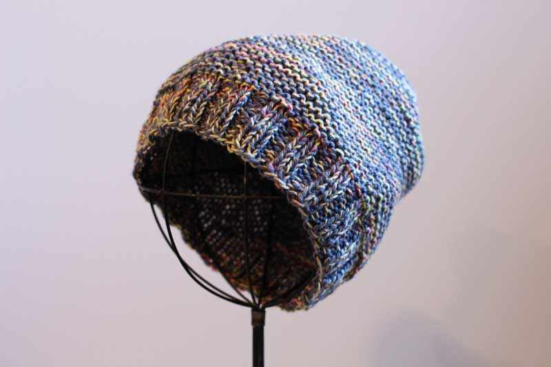 gray hipster knit beanie (3)