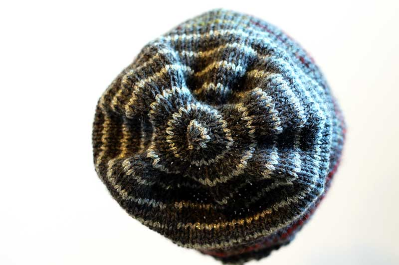 metallic gray striped hat1 (1)