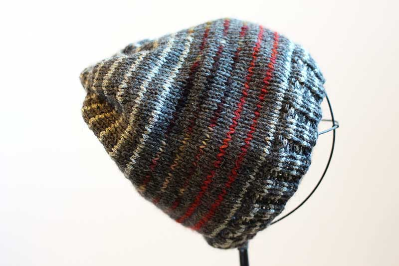 metallic gray striped hat1 (3)