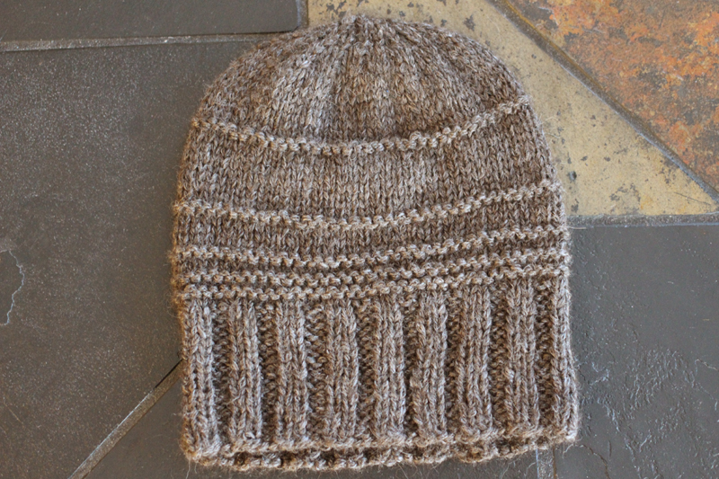 Elevation Hat - Midnightsky Fibers - by Jenn Wisbeck - Knitting