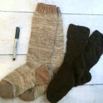 handspun handknit socks