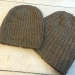 Shepherd's Wool Worsted knit hats